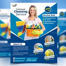 Cleaning Services Advertising Cleaning Service Flyer By Design Station Graphicriver