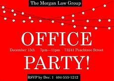 Office Christmas Party Invites Office Holiday And Christmas Party Invitations 2017