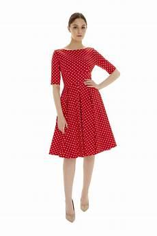 the pretty dress company hepburn in polka dot