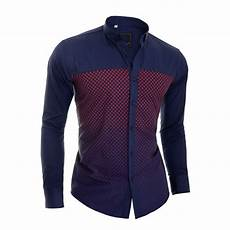 casual shirts sleeve d r navy blue casual shirt slim fit sleeve check pattern