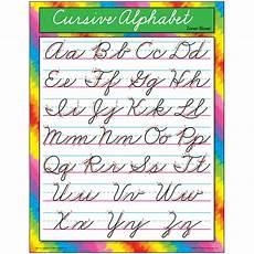 Chart Script Chart Cursive Alphabet Zanerbloser T 38136 Trend