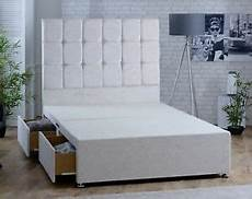 chenille fabric divan bed option to buy 54 quot fabric button
