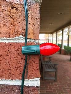 Fixing Christmas Lights To Brick Homeowner S Blog Hanging Christmas Lights Christmas