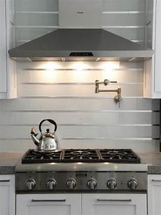 kitchen backsplash stainless steel 20 stainless steel kitchen backsplashes hgtv