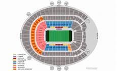 Broncos Tickets Seating Chart Broncos Stadium At Mile High Denver Tickets Schedule