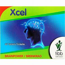 Excel Pills Tibb Exel Brainpower Tablets 60 Tablets Clicks