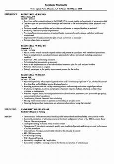 Rn Duties For Resume Registered Nurse Rn Resume Samples Velvet Jobs