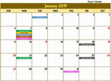 Daily Calendar 2020 Excel How To Make A Monthly Calendar With Recurring Events In