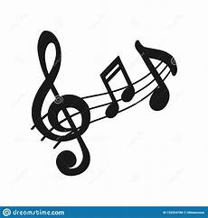 Music Note Logo Music Icon Audio Sound Media Musical Design Elements From