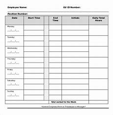 hourly time sheet 18 hourly timesheet templates free sample example
