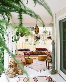 Bohemian Home Design 15 Inspiring Bohemian Porch With Colored Textiles Home