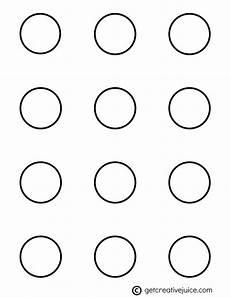 Macaroon Stencil Circle 1 5 Inch Macaron Template In 2019 Macaron