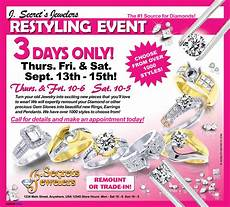 Sample Advertisements Jeweler S Restyling Event Sample Advertisement Jewelry