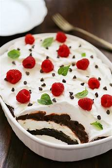 no bake chocolate layer dessert