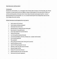 Gnc Sales Associate Duties Sales Associate Duties Responsibilities
