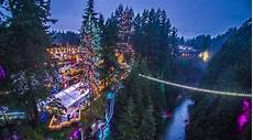 Capilano Suspension Bridge Canyon Lights Tickets Capilano S Canyon Lights Return To North Vancouver For