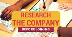 Company Research Research The Company