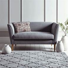 timsbury two seater sofa in grey bedroom sofa small