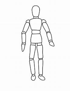 Body Template Outline Human Body Outline Printable Cliparts Co