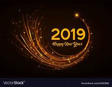 Free Happy New Year Images Happy New Year 2019 Royalty Free Vector Image Vectorstock