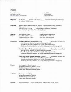 Microsoft Resume Templates Word Free Microsoft Word Resume Template Free Samples