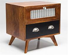 Bedside Cabinets Upcycled Bedside Cabinet By I Retro
