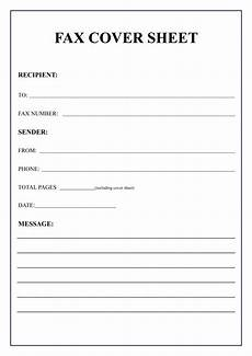 Fax Form Templates Free Printable Fax Cover Sheet Template Sample Amp Examples