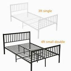 strong metal bed frame 3ft 4ft small size solid