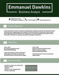 Perfect Business Resume Business Analyst Resume Template 11 Free Word Excel