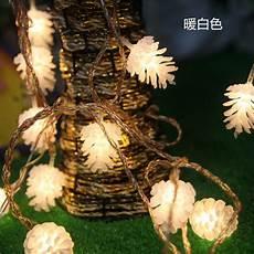 Pine Cone String Lights 5m 20 Led Pine Cone String Fairy Light Christmas Tree