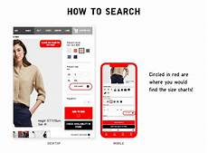 Uniqlo Womens Size Chart Size Chart Has Online Uniqlo