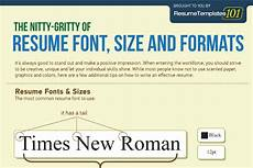 Best Font To Use On A Resumes Best Fonts And Proper Font Size For Resumes