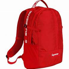 supreme bag supreme backpack ss18 bags strictlypreme