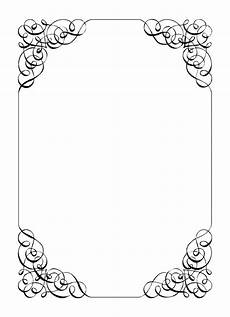 Wedding Page Border Invitation Borders Cliparts Co