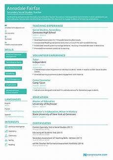 Teaching Resumes Samples Teacher Resume Example Job Description Skills Amp Tips