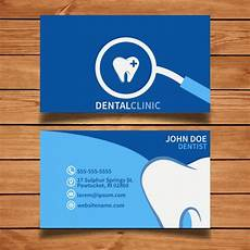 Dental Clinic Card Design Dental Vectors Photos And Psd Files Free Download