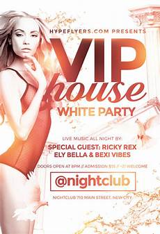 Free All White Party Flyer Template Download The White Party Flyer Template For Photoshop