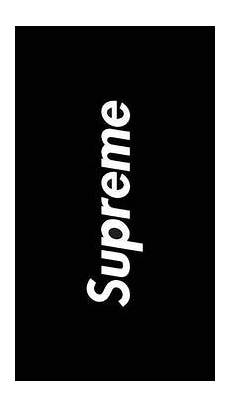 Supreme Background Black by Supreme Wallpaper For Android Apk