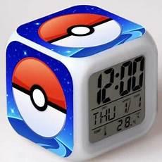 Pokeball Plus Light Colors Pokeball Clock Night Light Tablet Phone Case