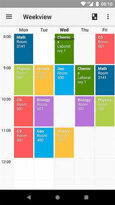 Block Schedule App Timetable Android Apps On Google Play