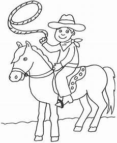 Malvorlagen Cowboy Und Indianer Kostenlose Malvorlage Cowboys Indianer Cowboy Auf