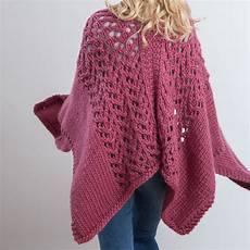 knit diy snuggly wrap knitting kit by wool couture