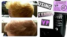 Kenra Color Chart Kenra Vp 5min Hair Color Toner On My Boyfriend S Hair At
