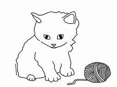 Ausmalbilder Baby Katze Katze Ausmalbild Malvorlagentv