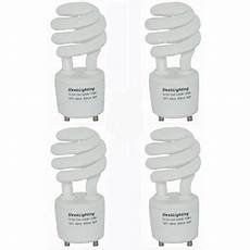 2 Prong Mini Light Bulb Sleeklighting Gu24 Base Light Bulb 13watt 120v 60hz 2
