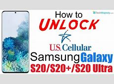 How to Unlock US Cellular Samsung Galaxy S20, S20  (Plus