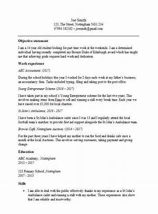 Cv For 16 Year Olds Cv Template For 15 Year Old Uk Cv Template First Job
