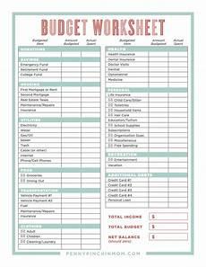 How To Make A Household Budget Spreadsheet How To Create A Household Budget Spreadsheet Db Excel Com