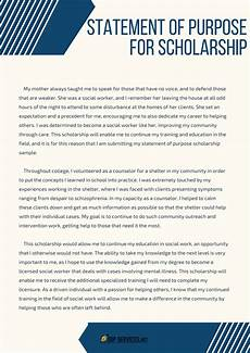 Essay Statement Of Purpose Writing Statement Of Purpose For Scholarship Amp Fellowship