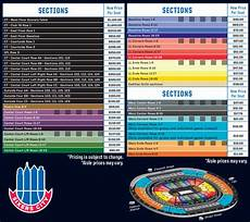 Sixers Seating Chart Philadelphia 76ers Interactive Seating Chart